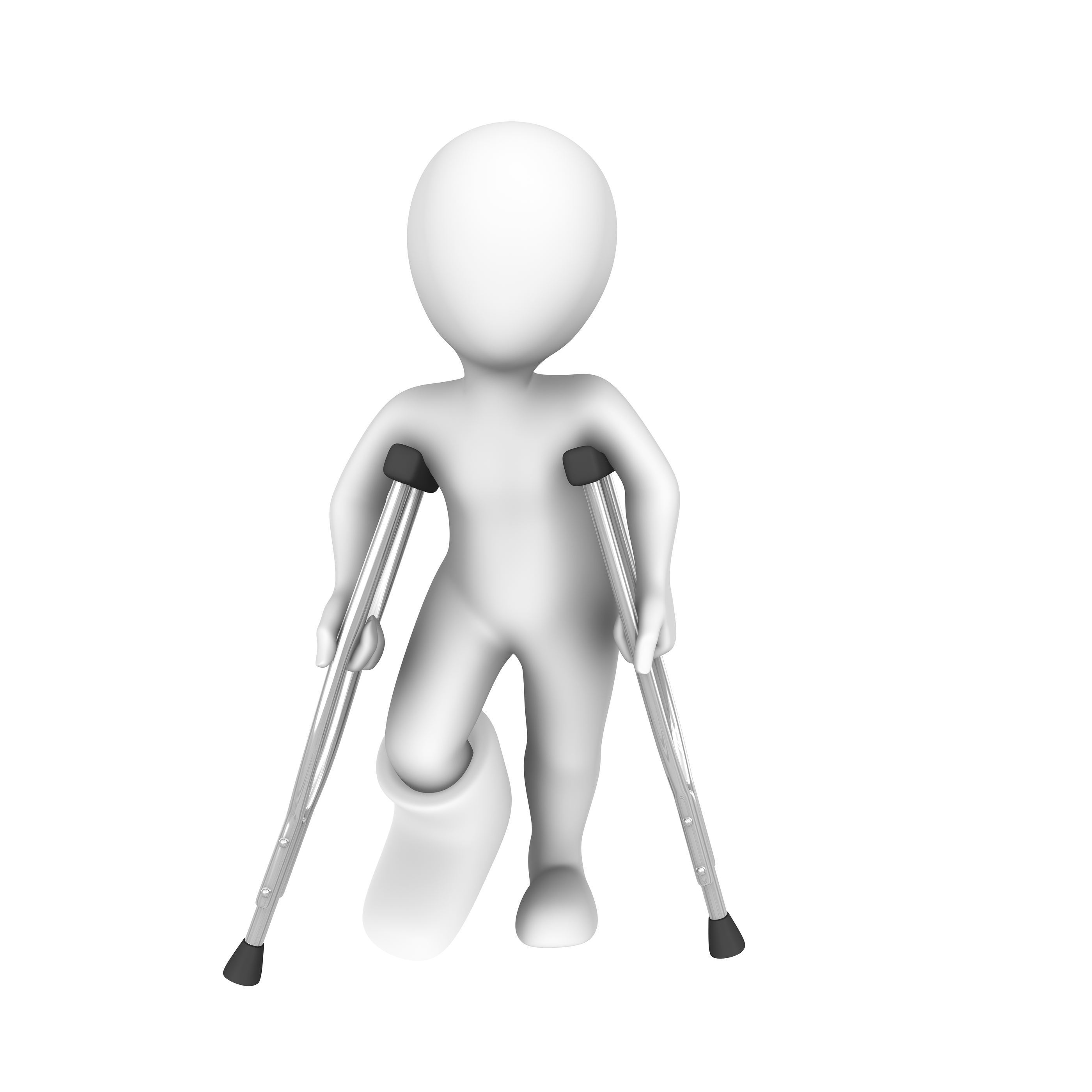 Stages of Weight Bearing With Crutches after Injury - The